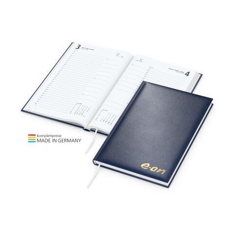 Buchkalender Basic mit Prägung