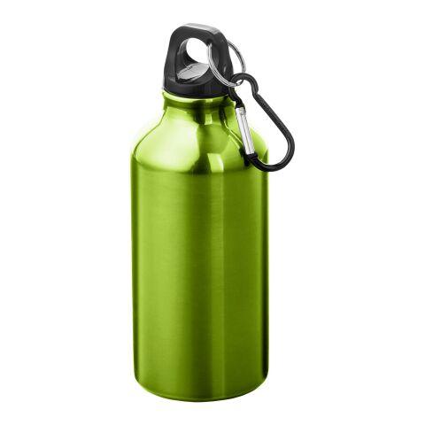 Oregon 400 ml Trinkflasche mit Karabiner Standard | apfelgrün | ohne Werbeanbringung | Nicht verfügbar | Nicht verfügbar