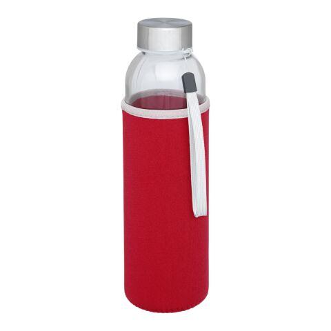 Bodhi 500 ml Glas-Sportflasche rot | ohne Werbeanbringung | Nicht verfügbar | Nicht verfügbar