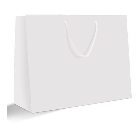Papiertragetasche 30 x 40 cm Hochformat ohne Werbeanbringung | matt | 02 - schwarz | Nicht verfügbar