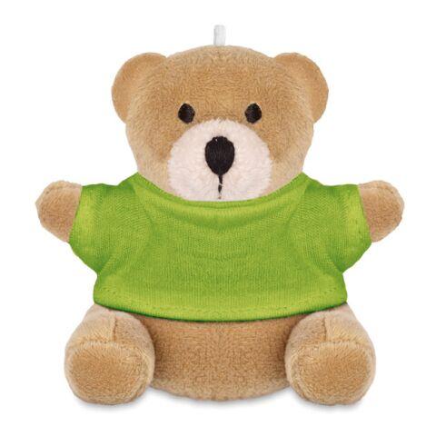 Schlüsselanhänger Teddy limette | ohne Werbeanbringung | Nicht verfügbar | Nicht verfügbar | Nicht verfügbar