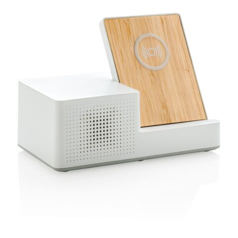Ontario 5W Wireless Charger und Lautsprecher
