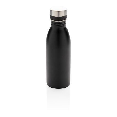 Deluxe Wasserflasche schwarz | ohne Werbeanbringung | Nicht verfügbar | Nicht verfügbar | Nicht verfügbar
