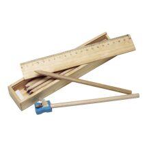 Buntstifte, 11er Set in Holzbox