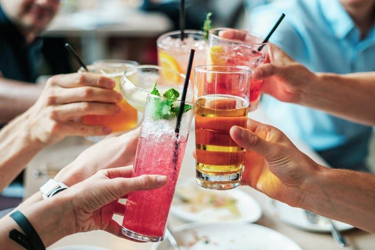 Getränke zu Werbezwecken nutzen