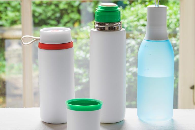 Trinkflaschen als sommerliche Werbeartikel